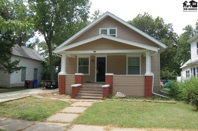 McPherson Single Family Home For Sale: 505 N Oak St
