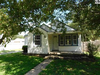 Hutchinson Single Family Home For Sale: 440 Justice St