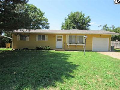 Hutchinson Single Family Home For Sale: 1317 Landon St