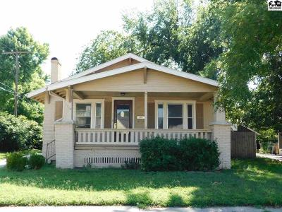 Hutchinson Single Family Home For Sale: 1710 N Walnut St