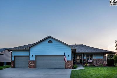 McPherson Single Family Home For Sale: 1202 Turkey Creek Dr