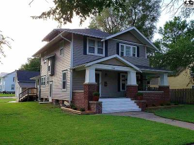 McPherson Single Family Home For Sale: 603 S Main St