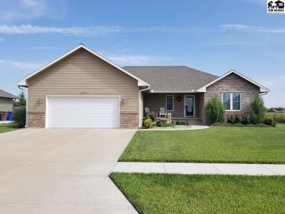 McPherson Single Family Home For Sale: 1215 E Robin Rd