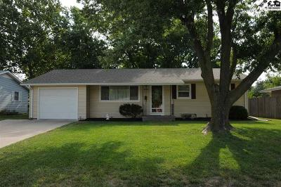 McPherson Single Family Home For Sale: 1330 N High Dr