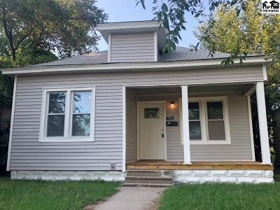 Single Family Home For Sale: 602 W 7th Ave