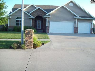 McPherson Single Family Home For Sale: 508 Randolph Rd