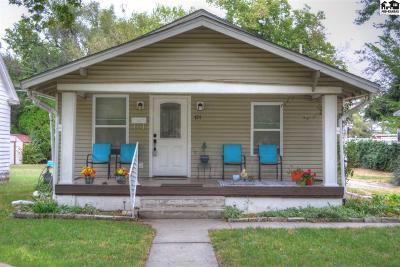 Hutchinson Single Family Home For Sale: 424 Crescent Blvd