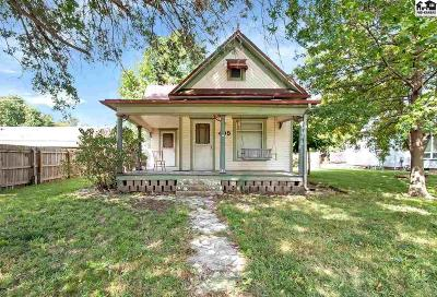 Harvey County Single Family Home For Sale: 405 N Commercial Ave