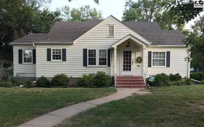 McPherson KS Single Family Home Contingent On Sale And Cl: $140,000