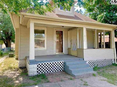 Hutchinson Single Family Home For Sale: 629 E 4th Ave