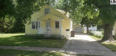 McPherson KS Single Family Home For Sale: $118,900