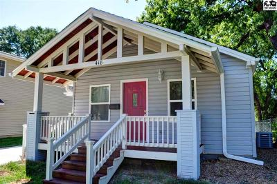 McPherson County Single Family Home For Sale: 418 S Tulip