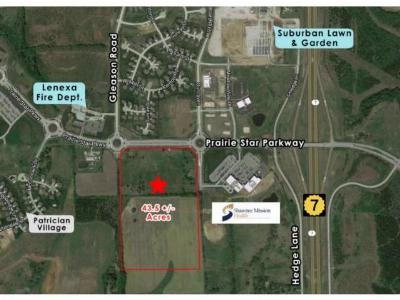 Douglas County, Johnson-KS County, Miami County Residential Lots & Land For Sale: K-7 & Prairie Star Parkway