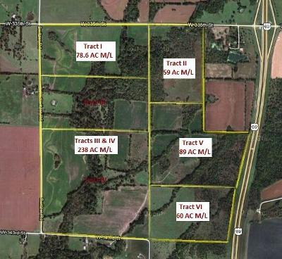 Johnson-KS County, Miami County Residential Lots & Land For Sale: 335th 335th Switzer, SE