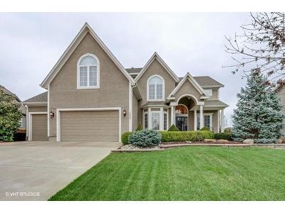 Overland Park Single Family Home Sold: 12333 Gillette Street