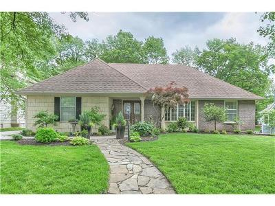 Overland Park Single Family Home Sold: 10007 Briar Drive