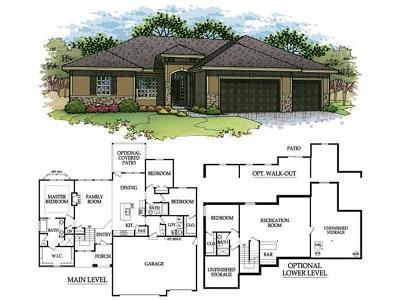 Kansas City Single Family Home For Sale: 3624 N 110th Terrace