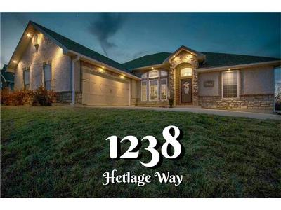 Single Family Home Sold: 1238 Hetlage Way