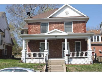 Atchison Single Family Home For Sale: 217 N 9th Street