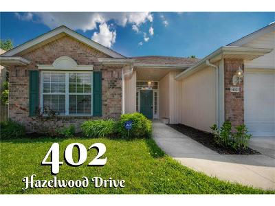 Single Family Home Sold: 402 Hazelwood Drive