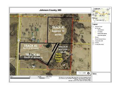 Knob Noster Residential Lots & Land For Sale: Track2 NE P Highway