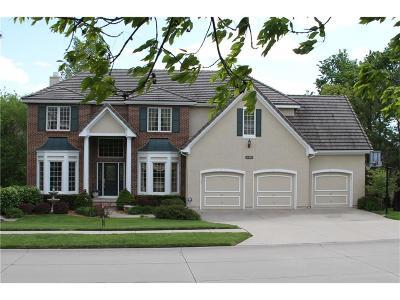Johnson-KS County Single Family Home Contingent: 11035 S Glenview Lane