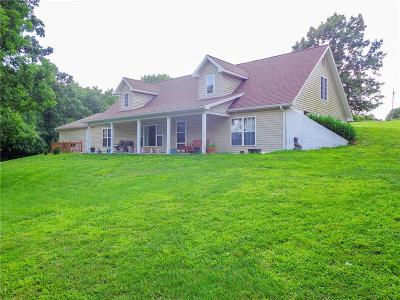 Single Family Home For Sale: 6166 Jay Bird Road