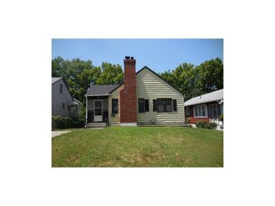 Kansas City MO Single Family Home Auction: $18,600