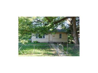 Kansas City MO Single Family Home For Sale: $15,900