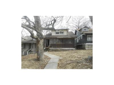 Kansas City MO Single Family Home For Sale: $6,500