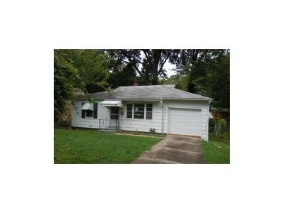 Kansas City MO Single Family Home For Sale: $25,700