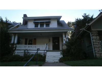 Kansas City MO Single Family Home For Sale: $24,900