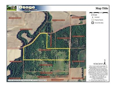 Osage County Residential Lots & Land For Sale: 00000 S Paulen Road