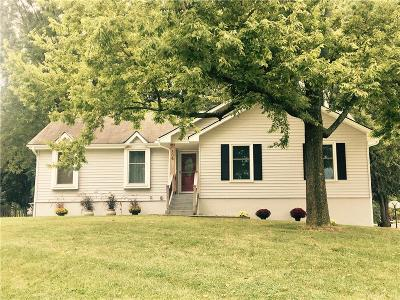 Blue Springs MO Single Family Home Sold: $210,000