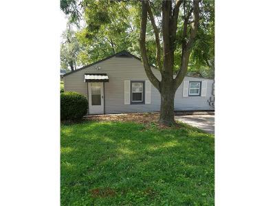 Shawnee Single Family Home For Sale: 5720 Bluejacket Street