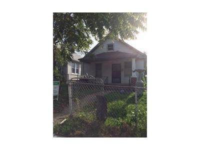 Kansas City MO Single Family Home For Sale: $36,000
