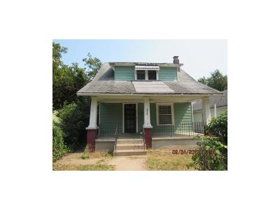 Kansas City MO Single Family Home For Sale: $11,000