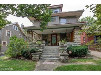 Kansas City Single Family Home For Sale: 5424 Baltimore Avenue