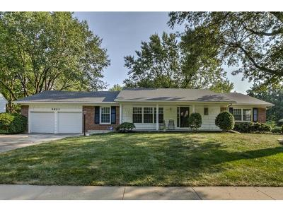 Overland Park Single Family Home For Sale: 5631 W 87th Street