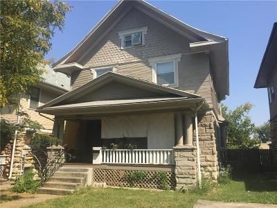 Kansas City Single Family Home For Sale: 3205 Central Street