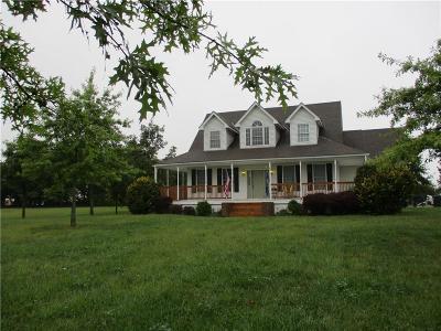 Spring Hill Single Family Home Show For Backups: 21760 S Gardner Road