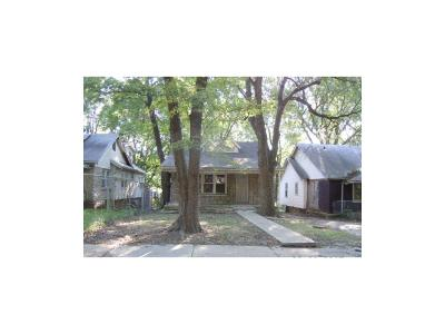 Kansas City MO Single Family Home For Sale: $13,000