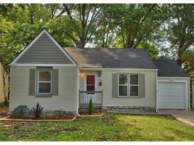 Kansas City Single Family Home For Sale: 6418 College Avenue