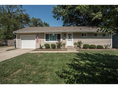 Overland Park KS Single Family Home For Sale: $182,500