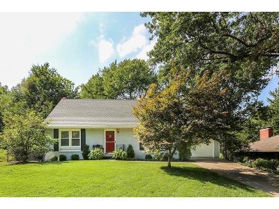 Prairie Village Single Family Home For Sale: 7534 Reinhardt Street
