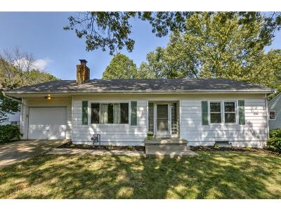 Lee's Summit MO Single Family Home Show For Backups: $112,500