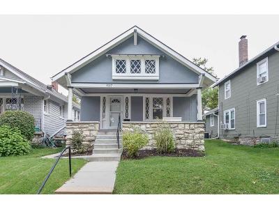 Kansas City Single Family Home For Sale: 5117 Baltimore Avenue