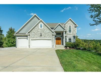 Lenexa Single Family Home For Sale: 9107 Woodland Court