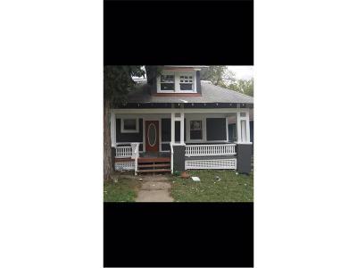 Kansas City Single Family Home For Sale: 3811 Wayne Avenue