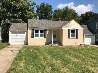Kansas City Single Family Home For Sale: 1414 E 75th Terrace